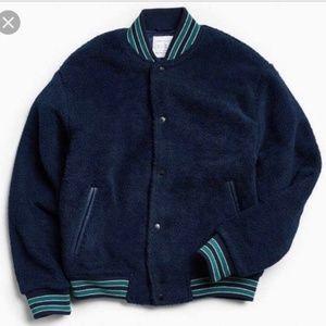 Men's BDG URBAN OUTFITTERS Sherpa Varsity Jacket